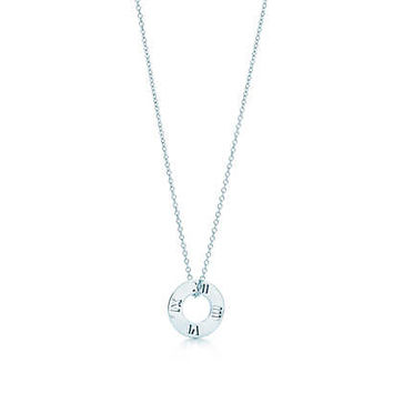 Tiffany & Co. - Atlas® pierced pendant in sterling silver.