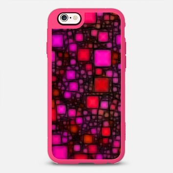 Post It Pink Glow iPhone 6s case by Alice Gosling | Casetify