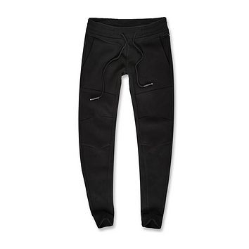 """Niagara"" Tactical Joggers in Jet Black"