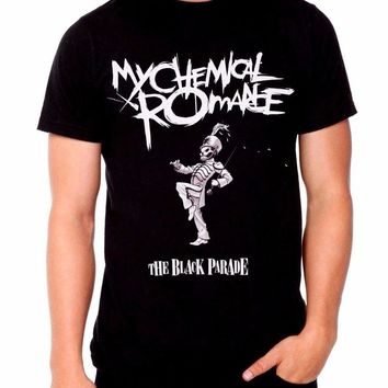 MY CHEMICAL ROMANCE The Black Parade Men's Men Funny casual streetwear hip hop printed T shirt