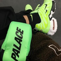 NIKE AIR MAX PLUS PRM double LOGO Running shoes