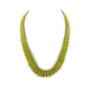 Flexible Loop Cleopatra Necklace in 18KT Gold