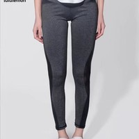 Lululemon Ladies Outdoor Running Breathable Yoga Body Building Tight Pants-3