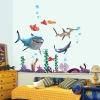 Finding Nemo Wall Stickers Sharks and Fish's Live Sea Removable Children/kids Home
