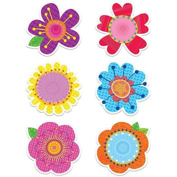 SPRINGTIME BLOOMS 6IN CUT OUTS