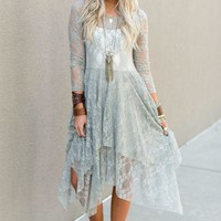 Romantic Escape Boho Lace Dress