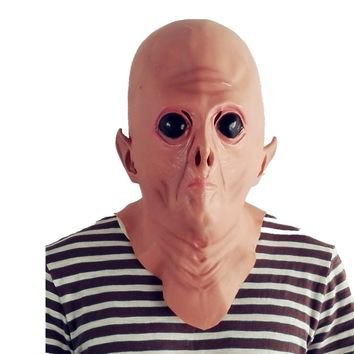 Alien Mask Latex Masquerade Cosplay Costume Party Halloween Supplies