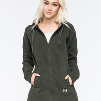Under Armour Winter Street Womens Hoodie Olive  In Sizes
