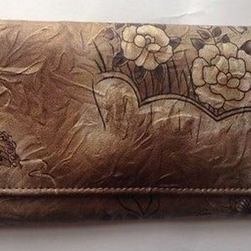 Vintage Style Ladies Floral Wallet, Purse