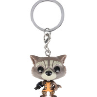 Funko Marvel Guardians Of The Galaxy Pocket Pop! Rocket Raccoon Key Chain