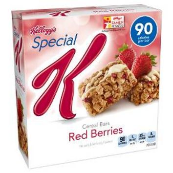 Kellogg's Special K Red Berries Cereal Bars 6 pk