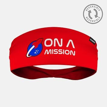 On a Mission Red Alarm Headband