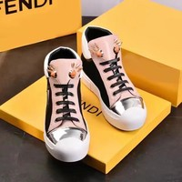 Fendi  Women Casual Shoes Boots  fashionable casual leather Shoes