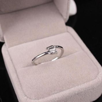 ESBONG Shiny New Arrival Gift Jewelry Hot Sale Accessory Stylish Simple Design Geometric Alloy Ring [11187555348]