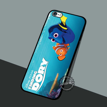 Poster Finding Dory - iPhone 7 6 5 SE Cases & Covers