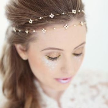 Ditte Bridal Browband