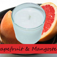 Grapefruit and Mangosteen Scented Candle in Tumbler 13 oz