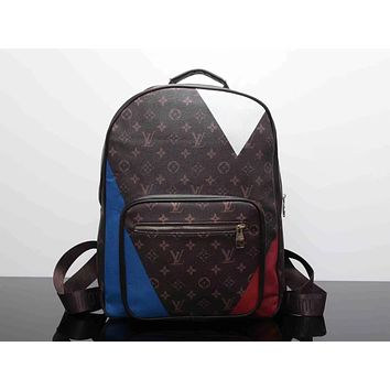 Louis Vuitton Fashion Backpack Bookbag Travel Bag Shoulder Bag