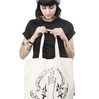 Destroy Every Opposition tote bag