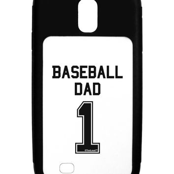 Baseball Dad Jersey Galaxy S4 Case  by TooLoud