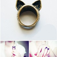 I'm All Cat Ears Ring from MODE