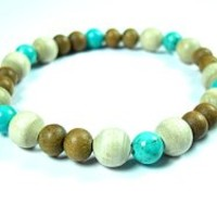 Yoga Hand Malas- Hand Crafted Stone Beads Buddhist Wrist Mala Bracelet for Meditation | Mogul Interior