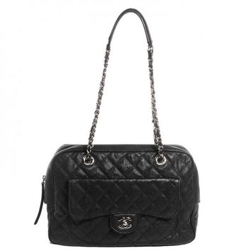 CHANEL Caviar Paradoxal Large Camera Case