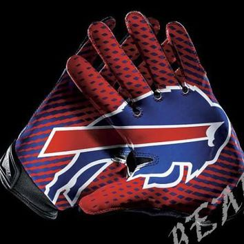 Buffalo Bills Glove 3x5 ft flag 100D Polyester flag 90x150cm NFL custom american football gloves flag