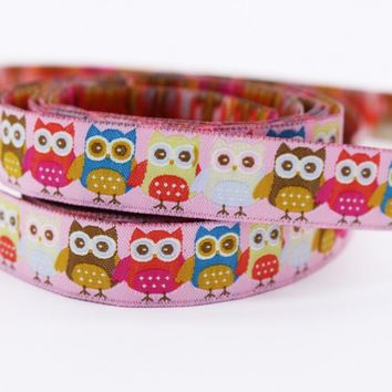 Handmade Style Owl Jacquard Webbing Zakka Sewing Label Santa Claus Cows Penguins Ribbon Sewing Tape Ribbons For DIY