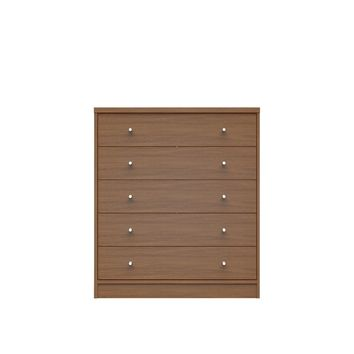 Astor 2.0 Modern Dresser with 5- Drawers in Maple Cream