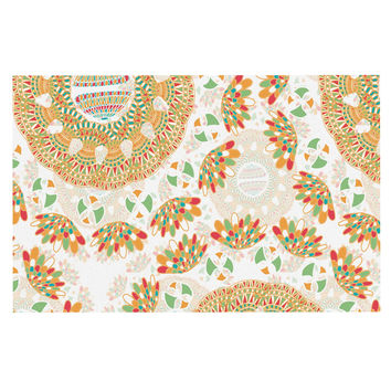 "Miranda Mol ""Bohemian Bright"" Geometric Multicolor Decorative Door Mat"