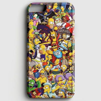 The Simpson Pattern iPhone 8 Case | casescraft