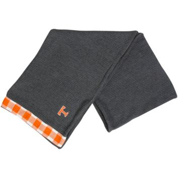 Tennessee Volunteers Waffle Knit Infinity Scarf - Charcoal