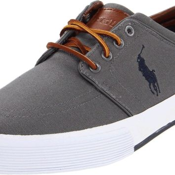 Polo Ralph Lauren Men's Faxon Low Sneaker Grey 11 D(M) US '