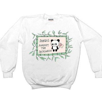 Pandas Against The Patriarchy -- Sweatshirt
