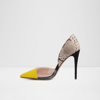 Legiralia Mustard Women's Pumps | Aldoshoes.com US