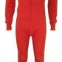 Men's Classic Rib Knit Cotton Rich Thermal Union Suit