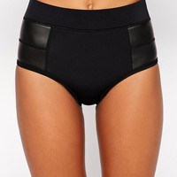 Rip Curl | Ripcurl The Bomb High Waisted Bikini Bottoms at ASOS
