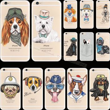 For iPhone 5S SE Painting Dogs Cat Sleep Silicon Phone Cover Cases For Apple iPhone 5 iPhone5 iPhone5S Case Shell Fashion Best