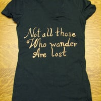 Lord of the Rings/The Hobbit Bleach Quote Tshirt