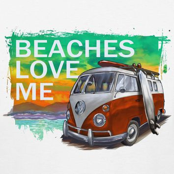 Volkswagen Beaches Love Me Sunset T-Shirt