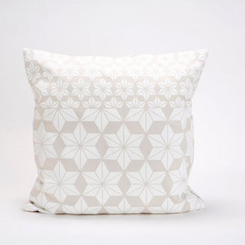 Japanese Style Floral Pillow Cover