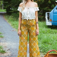 Goddess pants in clover