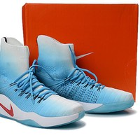 "Nike Hyperdunk Flyknit  ""Ice Blue""Basketball Shoes"