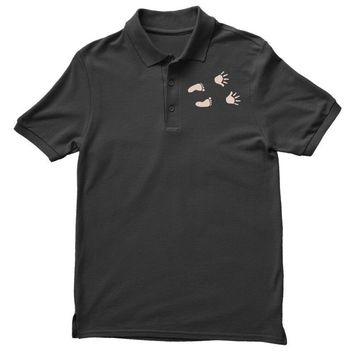 Guess What? - Baby Inside Pregnancy Announcement Polo Shirt