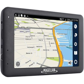 "Magellan Roadmate 6620-lm 5"" Gps Dash Cam Navigator With Free Lifetime Maps"