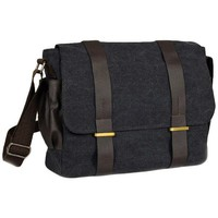 Natural Canvas Courier Bag