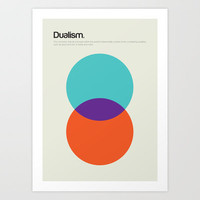 Dualism Art Print by Genis Carreras