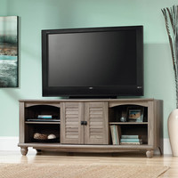 Walmart: Sauder Harbor View Salt Oak Entertainment Credenza for TVs up to 60""