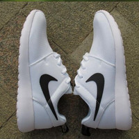 """""""NIKE"""" Trending Fashion Casual Sports Shoes White(front small white hook)"""